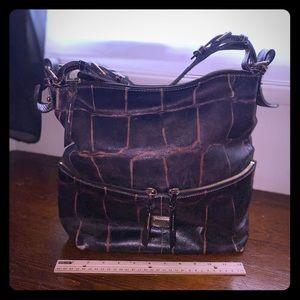 Brown Croc Bag